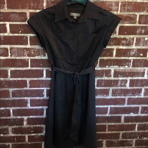 Merona Shirt dress Gray